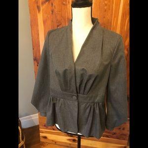 NWT Zara Grey Suite Jacket Essential- M